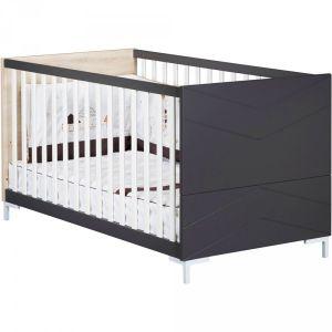 Sauthon Little big bed 140x70cm dark grey