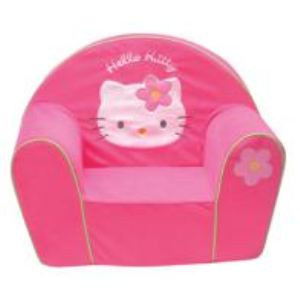 Fun House Fauteuil club Hello Kitty velours