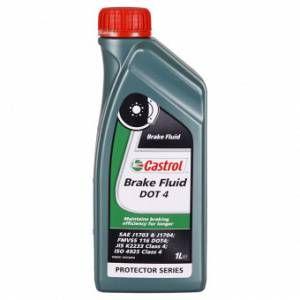 Castrol Liquide De Frein Brake Fluid Dot 4 1l - Neuf
