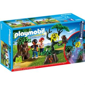 Playmobil 6891 Summer Fun - Enfants avec végétation et lampe torche