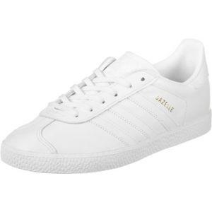 Adidas Gazelle, Baskets Basses Mixte Enfant, Blanc (Footwear White/Footwear White/Footwear White), 38 EU