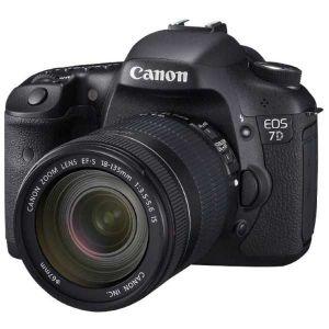 Canon EOS 7D (avec objectif 18-135mm)