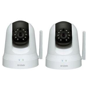 D-link DCS-5020L*2 - 2 caméras IP intérieur WiFi