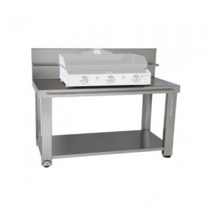 Forgeadour TRCI75 - Table roulante en inox