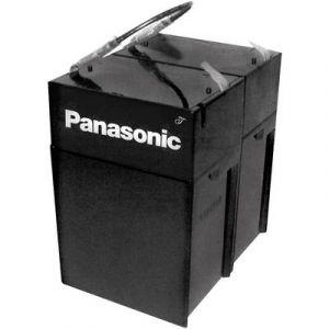 Panasonic Batterie au plomb 12 V 4.5 Ah LC-R124R5PD plomb (AGM) (l x h x p) 70 x 102 x 97 mm connecteur plat 4,8 mm sans