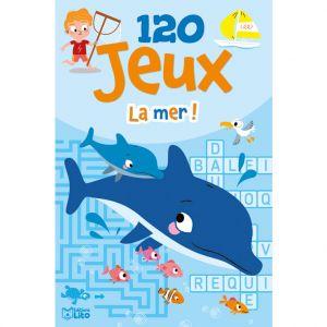 Editions Lito 120 Jeux à la Mer Bloc d'Activités 7 à 9 ans