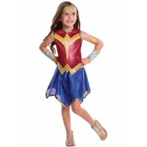 Déguisement classique Wonder Woman Justice League fille 9 à 10 ans