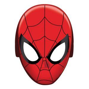 8 masques en carton Spiderman