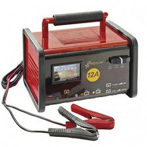 Peraline Chargeur de batterie 12A pour batterie 6/12V