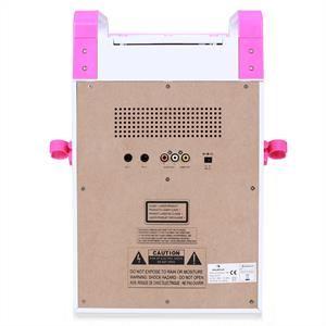 Auna KA8P - Chaîne karaoké lecteur DVD USB MP3 2 micros