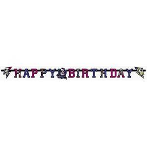 Riethmüller Guirlande d'anniversaire Monster High