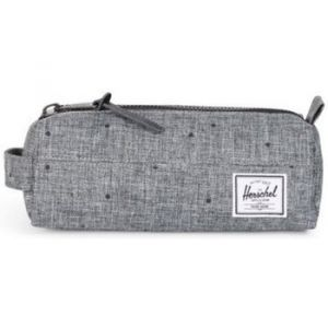 Herschel Settlement Trousse Case Scattered Raven Crosshatch gris