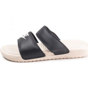 Nike Wmns Benassi Duo Ultra Slide Black/ Guava Ice-Guava Ice