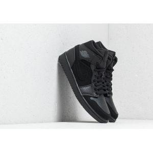 Nike Chaussure Air Jordan 1 Mid pour Homme - Noir - Taille 42