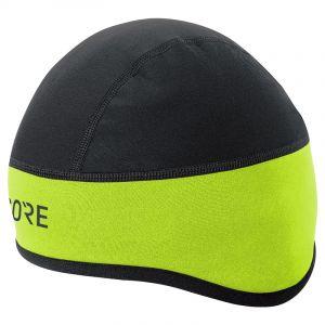 Gore Wear C3 Windstopper - Couvre-chef - jaune/noir 54-58cm Bonnets