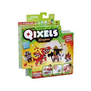 Kanaï Kids Mini Kits Qixels - Royaume Thème Dragon Combat