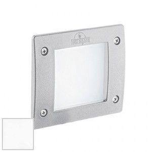 Ideal lux Spot extérieur encastré led Leti Blanc 01 résine 096575