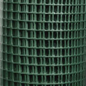 Provence Outillage Grillage plastique vert 9x9 mm Taille 0,5 x 5 m