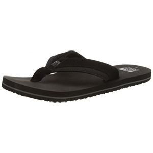 Reef Entertainment Reef Stuyak II, Flip-Flop Homme, Noir (Black) 44 EU