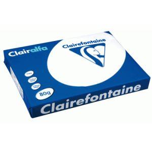 Clairefontaine 1969 - Ramette de 500 feuilles Clairalfa A3 coloris blanc 80g