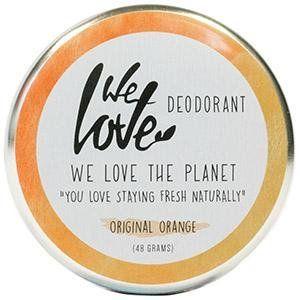 We Love The Planet Original Orange - Déodorant crème