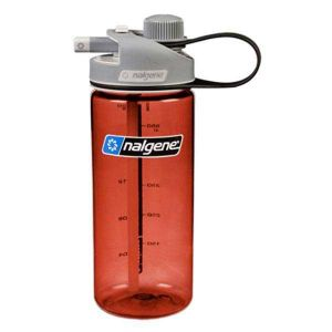 Nalgene Bouteilles Multi Drink Bottle 700ml - Red / Loop-Top Gray - Taille One Size