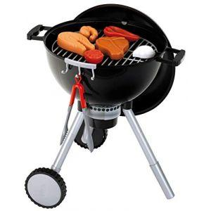 Klein Barbecue Weber One Touch Premium avec charbon sonore et lumineux