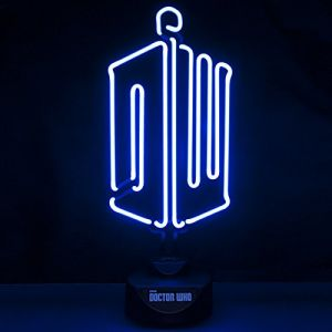 Lampe Neon Logo Doctor Who (20 x 44 cm)
