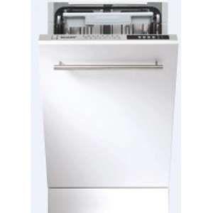 Sharp QWS32I472 X - Lave-vaisselle intégrable 10 couverts