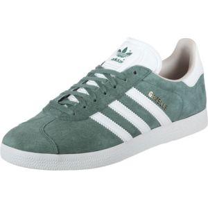 Adidas Gazelle W, Chaussures de Tennis Femme, Vert (Rawgrn/Ftwwht/Linen B41661), 38 EU
