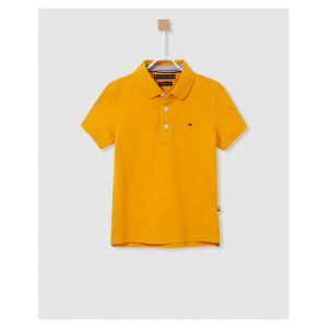 Tommy Hilfiger Polo Jaune - Taille 8 Ans