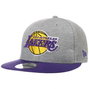 New era Shadow Tech 9Fifty Los Angeles Lakers snapback Hommes gris chiné violet T. S/M