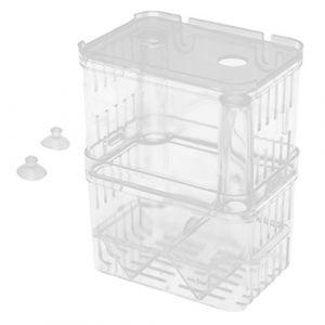 MagiDeal Boîte de Reproduction Aquarium Pondoir Isoloir Ecloserie Plastique