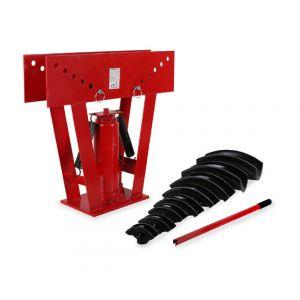"""Eberth 16 T Cintreuse hydraulique (8 Matrices 1/2"""""""" - 3"""""""", Levier de la pompe) Presse a cintrer"""