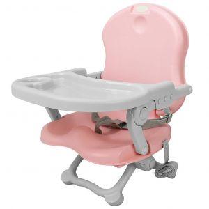 Sotech Baby Booster,Réhausseur de chaise pour enfant, Rehausseur Bébé, Rose, Hauteur: 38/42/46/50 cm, Matériau: PP