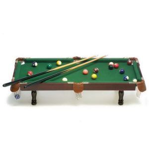 Legler 4039 - Billard de table avec accessoires