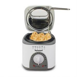Techwood TFF-81 - Mini friteuse et appareil à fondue 950 W