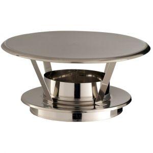 Poujoulat Chapeaux THERMINOX TI - Chapeau pare-pluie simple - diamètre 180 -