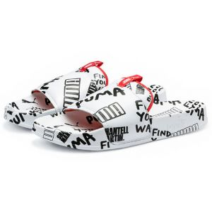 Puma Leadcat Graphic Sm W blanc rouge 40,5 EU