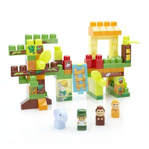 Mega Bloks Baril Jungle