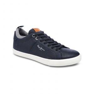 Pepe Jeans Footwear Marton basic - Tennis - bleu marine