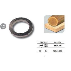 Leman 129.30.608 - 1 Rouleau de 50 mètres Lame scie à ruban en acier C75 30x0,6 pas de 8