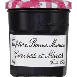 Bonne Maman Confiture extra cerise et mûres - Le bocal de 370g