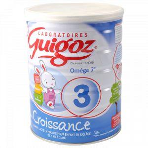Guigoz Lait Optipro Bio Croissance 3ème âge 800 g - de 10 mois à 3 ans