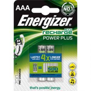 Energizer 2 accus AAA NiMH 1,2V 850mAh Accus LR03