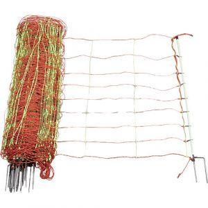 Patura Filet à moutons électrifié combiné double pointe 50 m