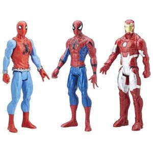 Hasbro Spider-Man Movie Titan - Pack de 3