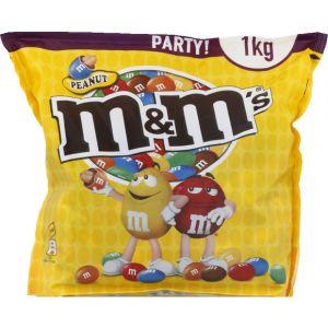 M&m's Bonbons à la cacahuète et au chocolat - Le sachet de 1kg