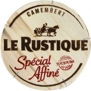 Le rustique Camembert Spécial Affiné - La boite de 260g