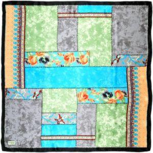 Allée du foulard Carré de soie Premium Patchroz